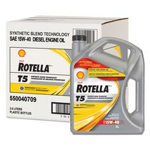 Shell Rotella T5 Synthetic Blend SAE 15W-40 Heavy Duty Diesel Engine Oil
